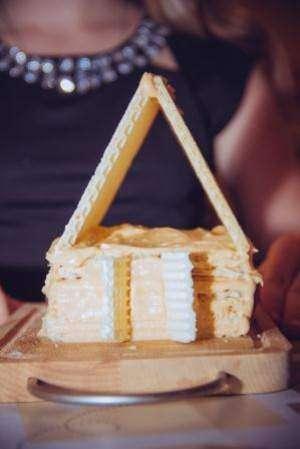 Вафельный домик