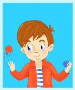 Жонглирование мячами - это просто