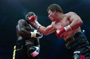 Российский боксер Александр Поветкин победил Переса в первом раунде