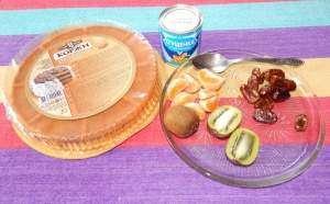Торт «Остров Робинзона»