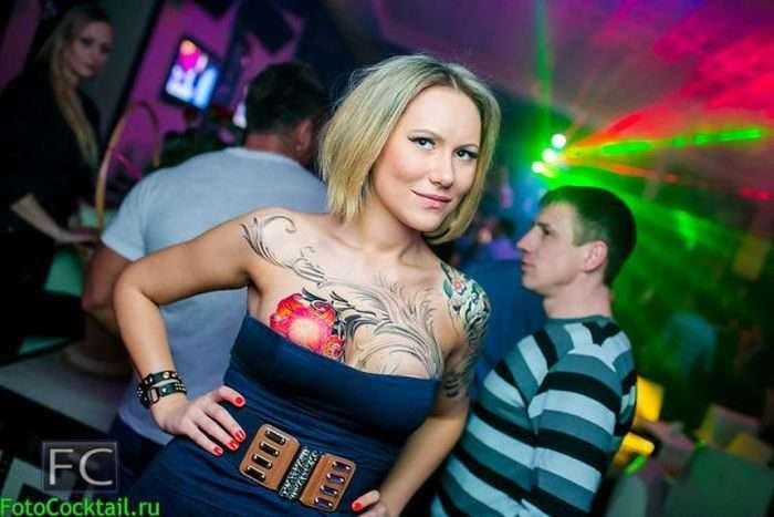Відвідувачі російських нічних клубів (25 фото)