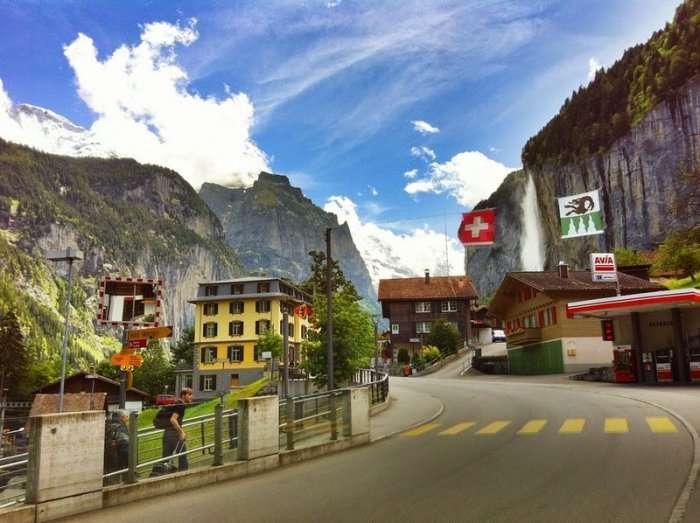 Лаутербруннен – долина 72-х водоспадів (9 фото)