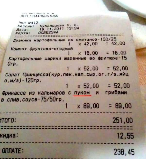 Забавні чеки з супермаркетів (21 фото)