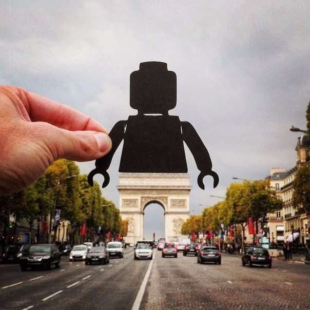 Художник Rich McCor спочатку шукає підходящий обєкт для кадру (9 фото)